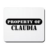 Property of Claudia Mousepad