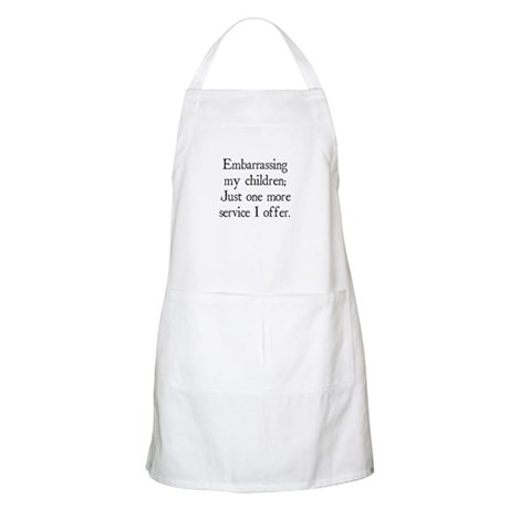 Embarrassing My Children BBQ Apron