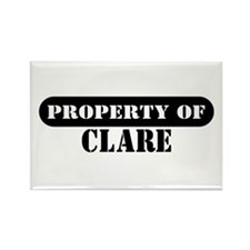 Property of Clare Rectangle Magnet (10 pack)