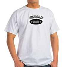Beagle Dad Ash Grey T-Shirt