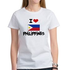 I HEART PHILIPPINES FLAG T-Shirt