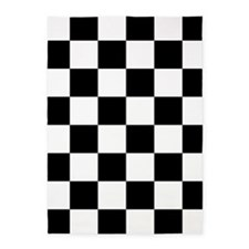 Checkerboard 5'x7'Area Rug