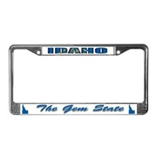 Idaho Flag Drk License Plate Frame