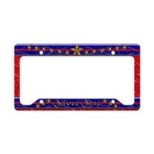 Harvest Moons Silver Star License Plate Holder