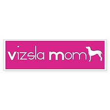 Vizsla Mom Bumper Car Sticker