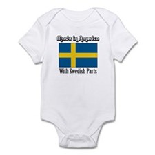 Swedish Parts Infant Bodysuit