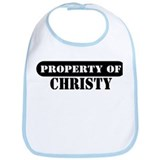 Property of Christy Bib