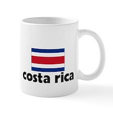 I HEART costa rica FLAG Small Mug