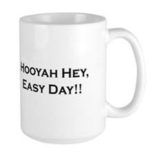 "Coast Guard Diver Mug ""Hooyah Hey, Easy Day!!"""