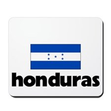 I HEART HONDURAS FLAG Mousepad