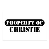 Property of Christie Postcards (Package of 8)