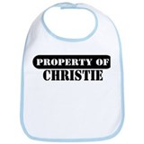 Property of Christie Bib