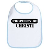 Property of Christi Bib