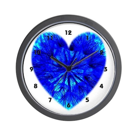 Heart of Seeds Wall Clock