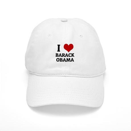 I Love Barack Obama Cap