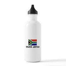 I HEART SOUTH AFRICA FLAG Water Bottle