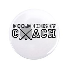 "Field Hockey Coach 3.5"" Button (100 pack)"
