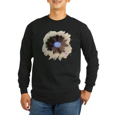 Country Daisy Long Sleeve Dark T-Shirt