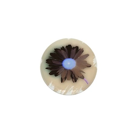 Country Daisy Mini Button