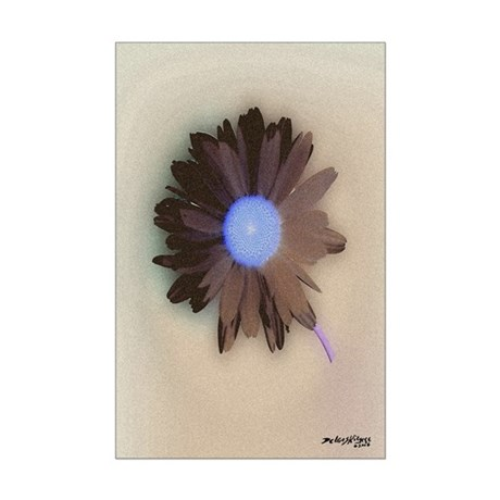 Country Daisy Mini Poster Print