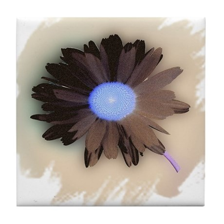 Country Daisy Tile Coaster
