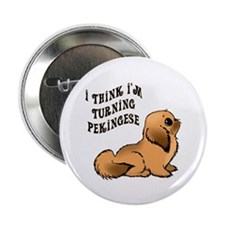 Turning Pekingese Button