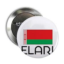 "I HEART BELARUS FLAG 2.25"" Button"