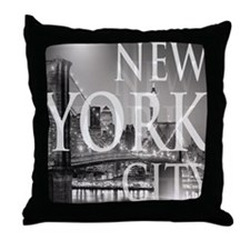 Cute New york city Throw Pillow