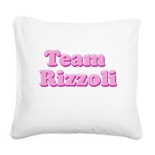 Team Rizzoli Square Canvas Pillow