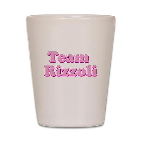 Team Rizzoli Shot Glass