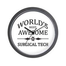 World's Most Awesome Surgical Tech Wall Clock