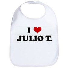 I Love JULIO T. Bib