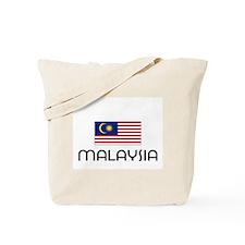 I HEART MALAYSIA FLAG Tote Bag