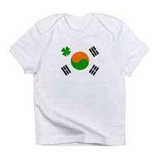 Cute Irish american flags Infant T-Shirt