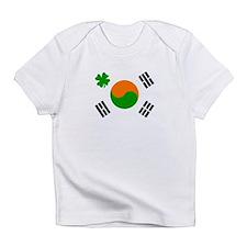 Unique Irish american flags Infant T-Shirt