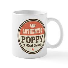 Classic Poppy Small Mug