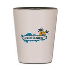 Palm Beach - Surf Design. Shot Glass