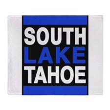 south lake tahoe 2 blue Throw Blanket