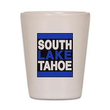 south lake tahoe 2 blue Shot Glass