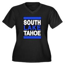 south lake tahoe 2 blue Plus Size T-Shirt