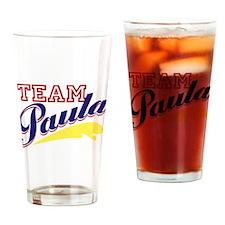 Team Paula Drinking Glass