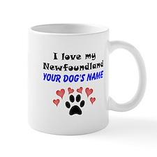 Custom I Love My Newfoundland Mug