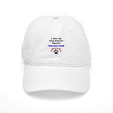 Custom I Love My King Charles Spaniel Baseball Baseball Cap