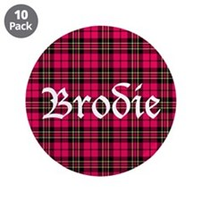 "Tartan - Brodie 3.5"" Button (10 pack)"