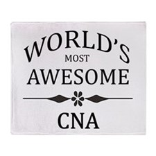 World's Most Awesome CNA Throw Blanket
