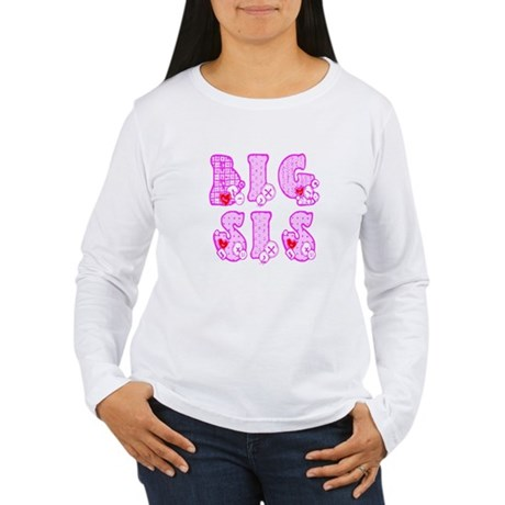 Big Sis Women's Long Sleeve T-Shirt