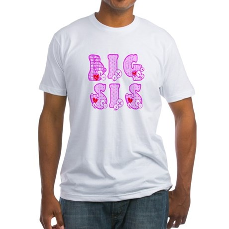 Big Sis Fitted T-Shirt