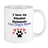 Alaskan malamute Small Mugs (11 oz)