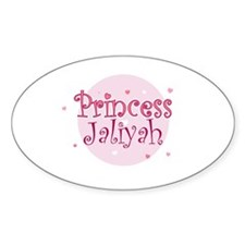 Jaliyah Oval Decal