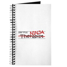Job Ninja Therapist Journal